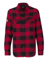 Long Sleeve Flannel Shirt - Ladies