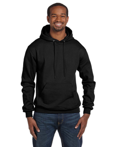 Champion Pullover Hoodie - Unisex - Champion Hoodie Black Front