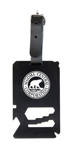 TSA Friendly Multi-Tool Luggage Tag